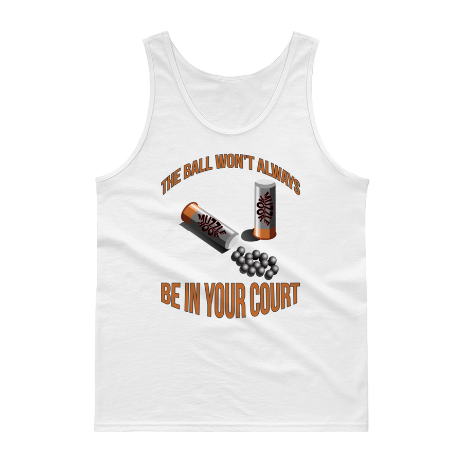 Image of BALL IN COURT MEN'S TANK TOP