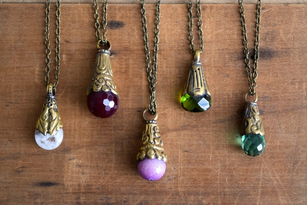 Image of The Jewel Tones necklace