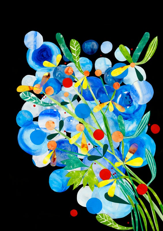 Image of Cobalt Strangler painting