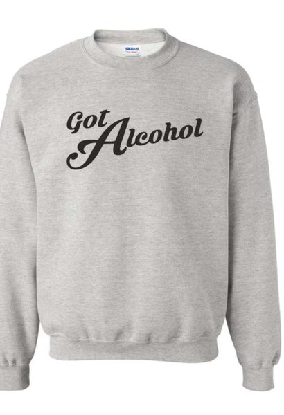 Image of Sweater Got Alcohol
