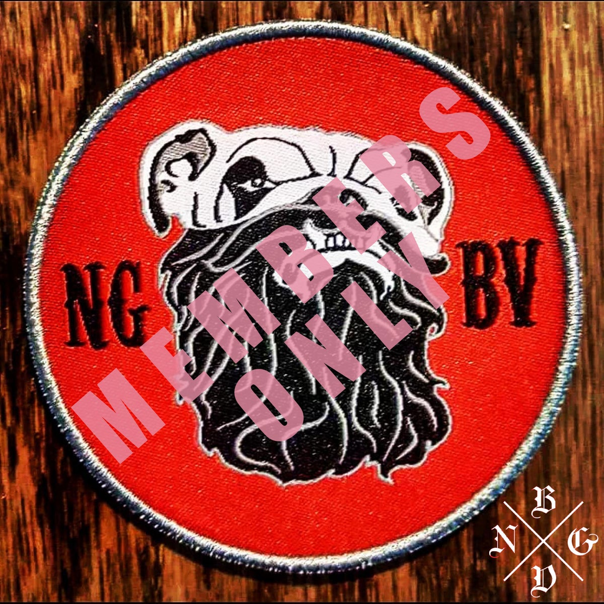 Image of NGBV PATCH (FOR MEMBERS ONLY)