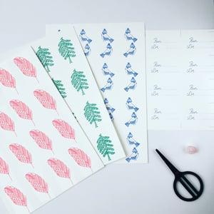 Image of Nouvelles étiquettes cadeaux *illustrées*