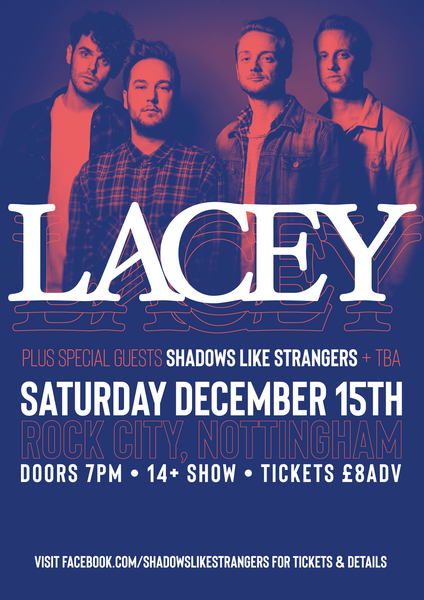 Image of Lacey + SLS LIVE @ Rock City [Tickets]