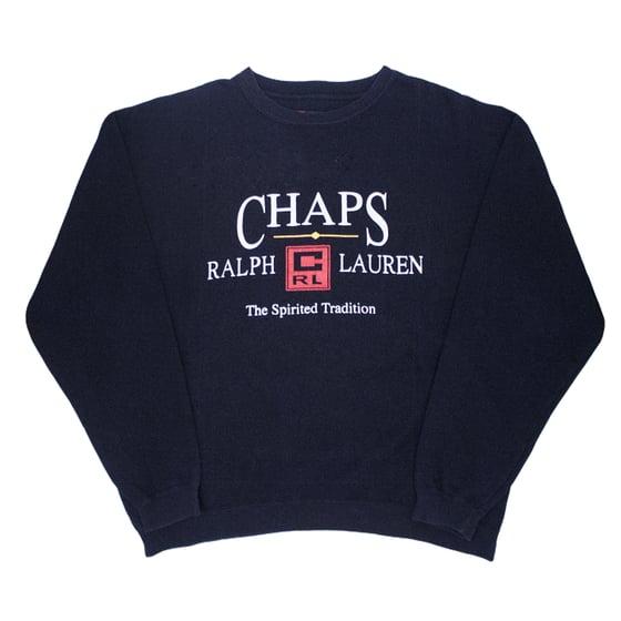 Image of Chaps Ralph Lauren Vintage Crewneck Sweatshirt Size XL