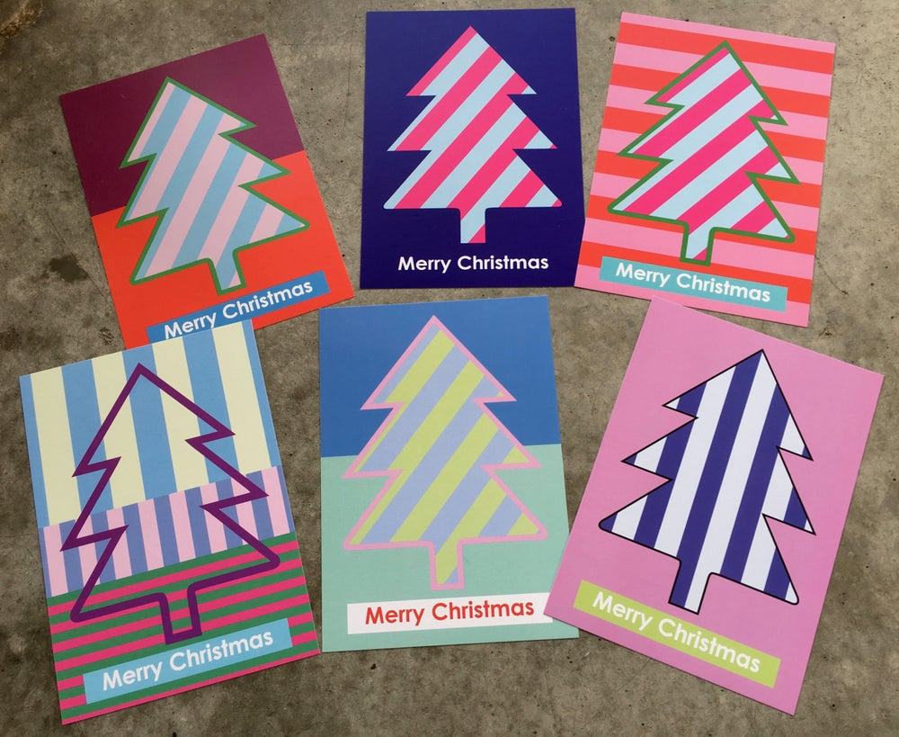 Image of Christmas cards 2018  A5 size / packet of 6 different motives