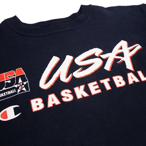 Image of Champion USA Dream Team Crewneck Size L