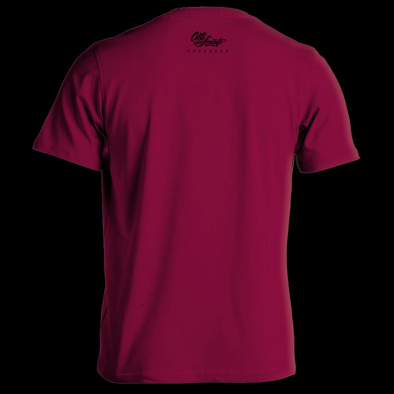 Image of ADVS t-shirt Bordeux