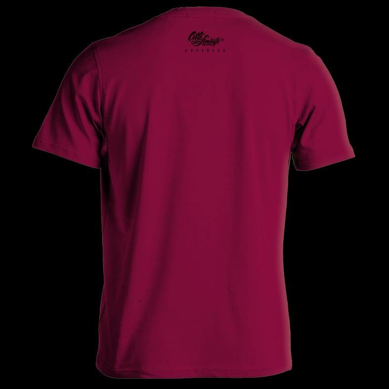 Image of ADVS t-shirt Bordeux