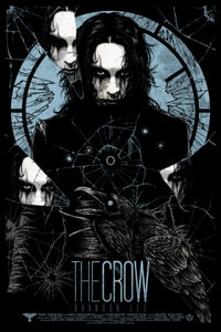 Image of The CROW - art print - Can't Rain all the time edition