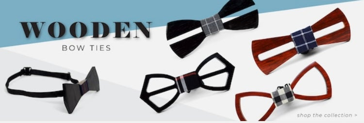 Image of Wooden Bow tie