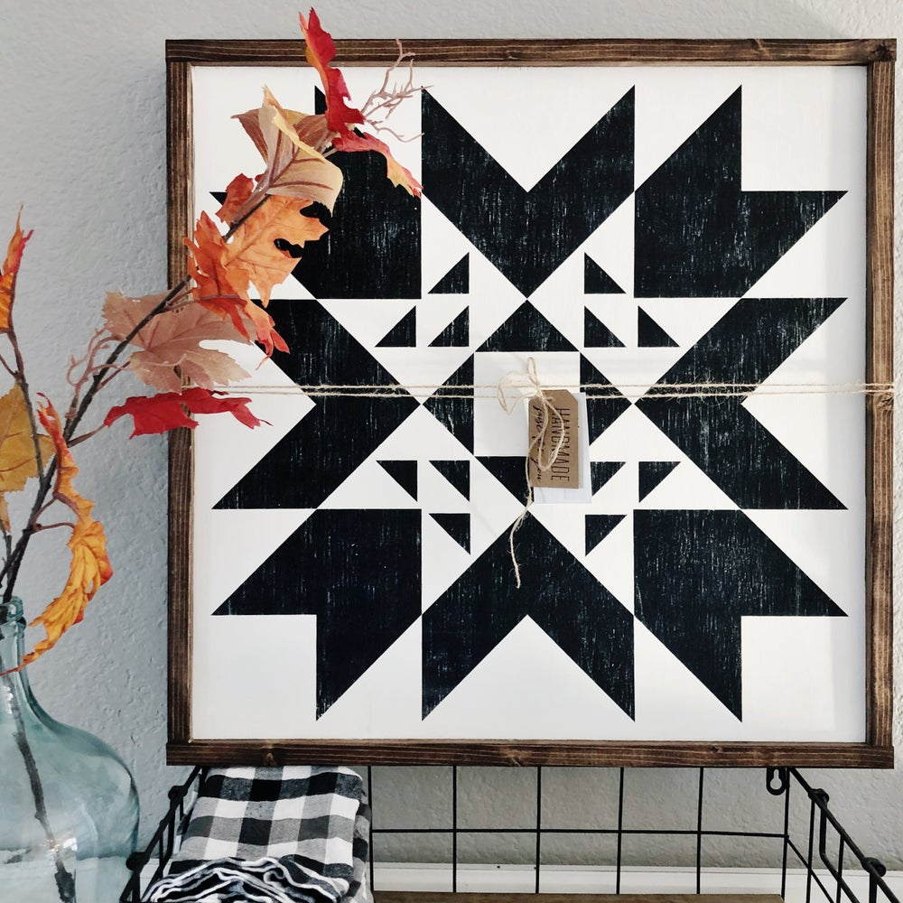 "Image of Indian Summer - 18"" Farmhouse Barn Quilt"