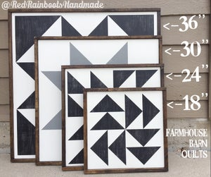 """Image of Indian Summer - 18"""" Farmhouse Barn Quilt"""