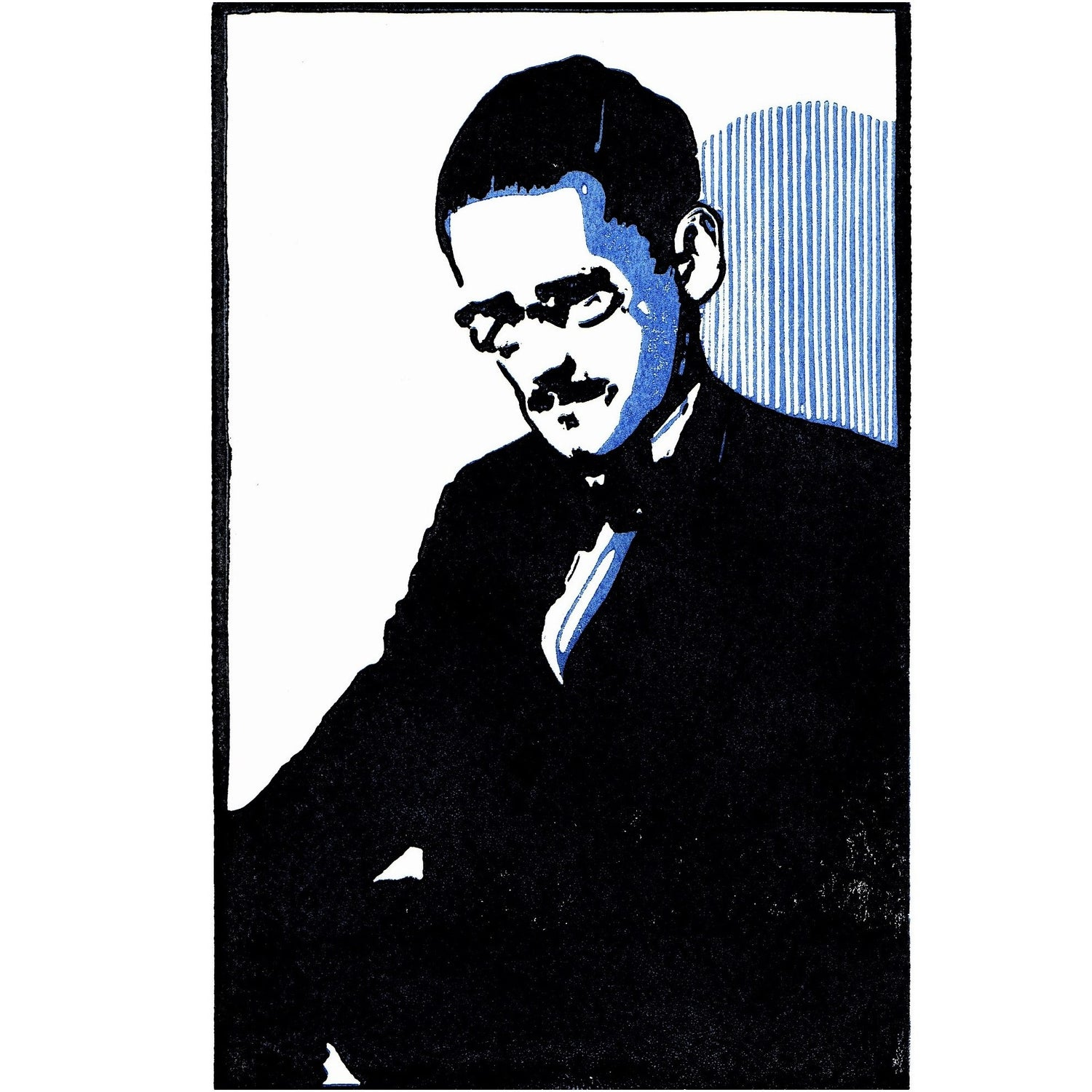 Image of JAMES JOYCE - portrait of the artist