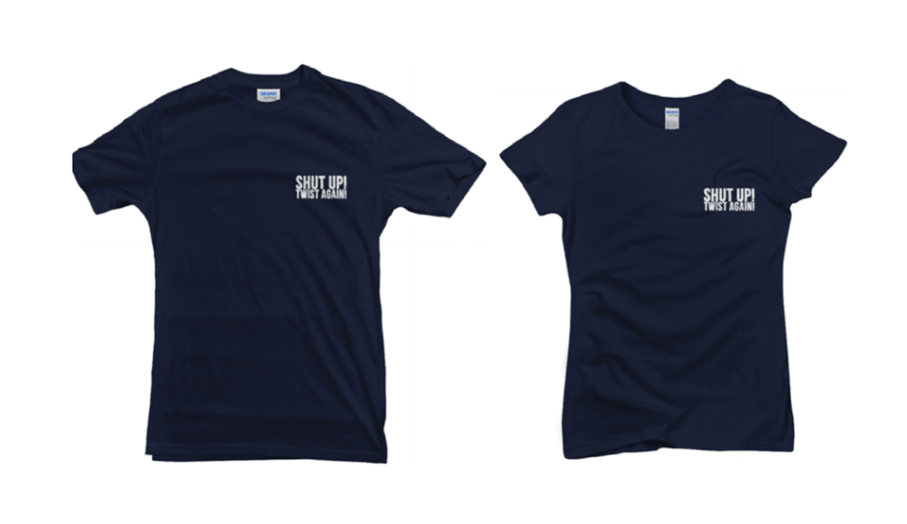 "Image of T-Shirt ""NAVY SUTA"""