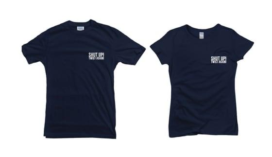 "Image of T-Shirt ""NAVY SUTA"""
