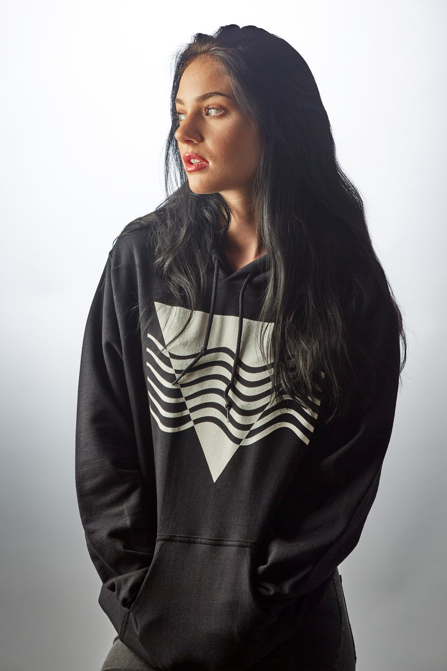 Image of the Liquid Pyramid Hoodie