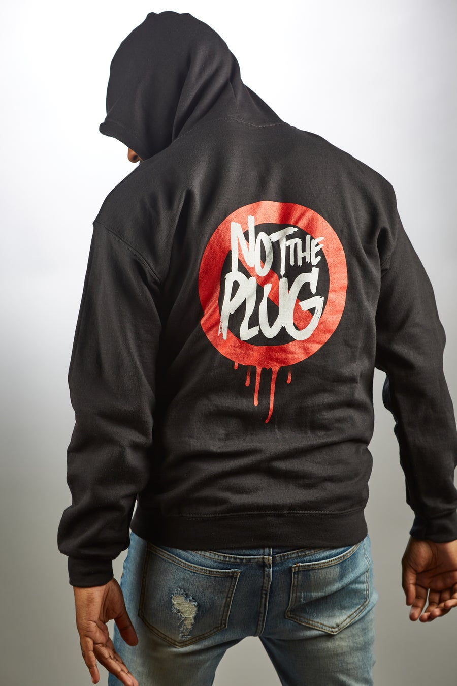 Image of Not The Plug Zip Up (PREORDER ships nov 23)