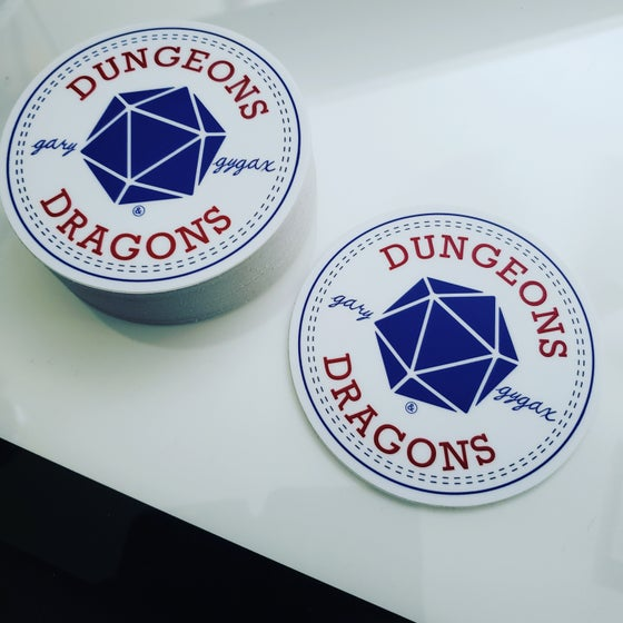 Image of D&D Converse Stickers