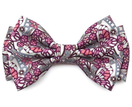 Image of Butterflies Liberty London pre-tied bow tie
