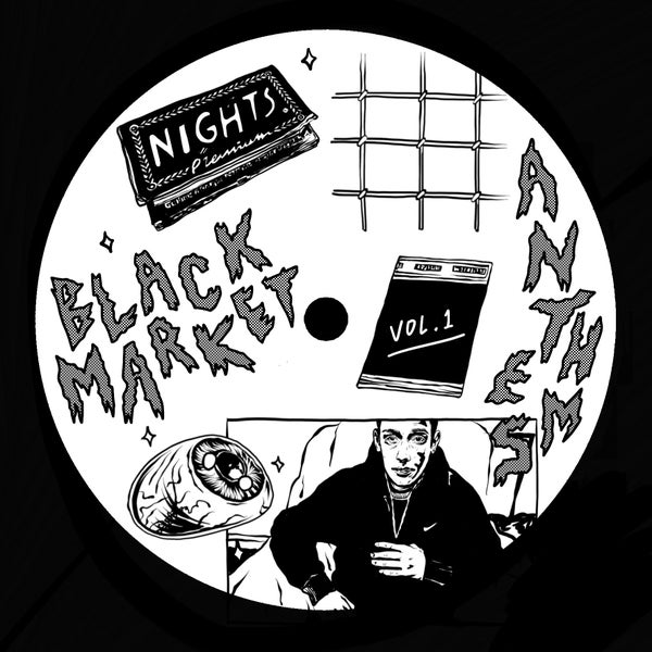 "Image of NSX005 - ""Nights - Black Market Anthems Vol 1"""