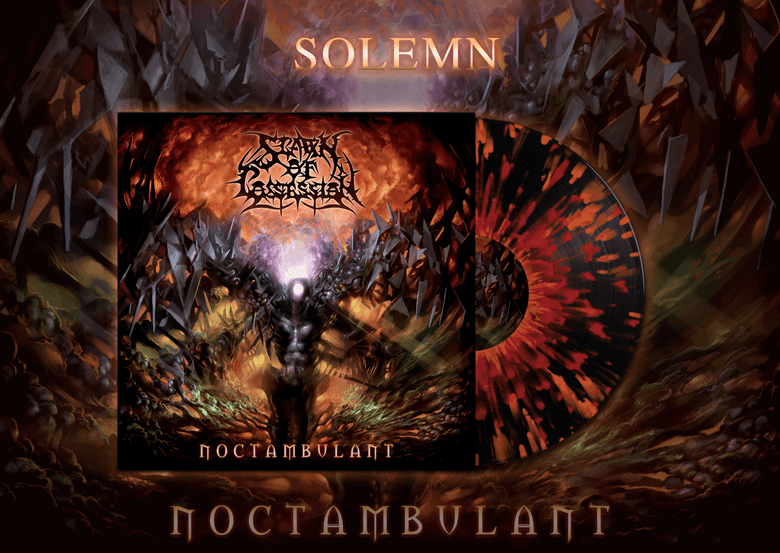 Image of [PRE-ORDER] Spawn of Possession - Noctambulant Solemn Gatefold