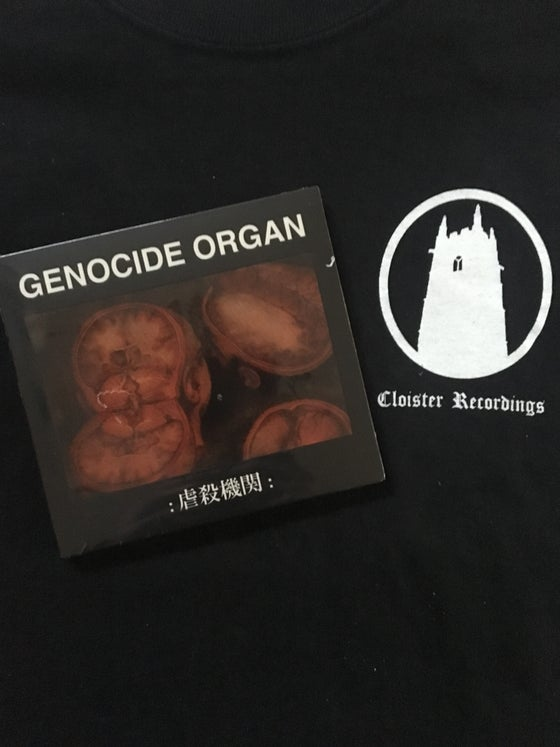 Image of Genocide Organ - S/T CD (Tesco)