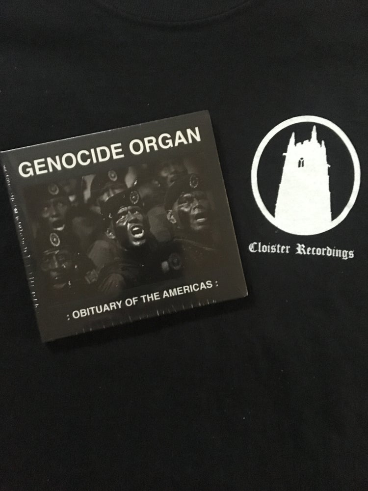 Image of Genocide Organ - Obituary Of The Americas CD (Tesco)