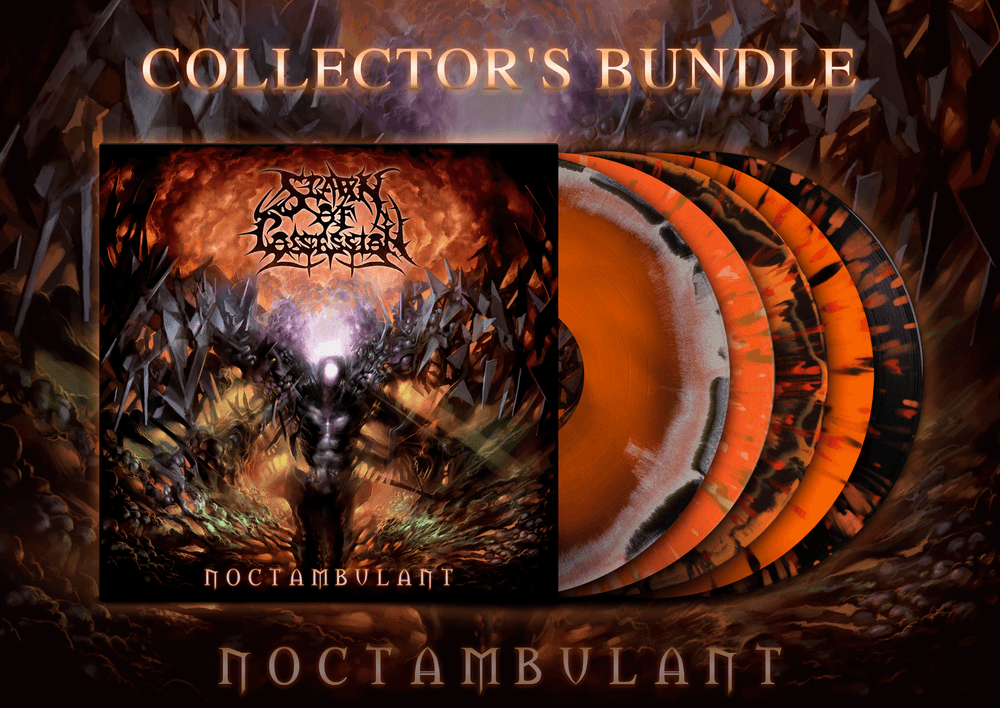 Image of [PRE-ORDER] Spawn of Possession - Noctambulant LP Collector's Bundle