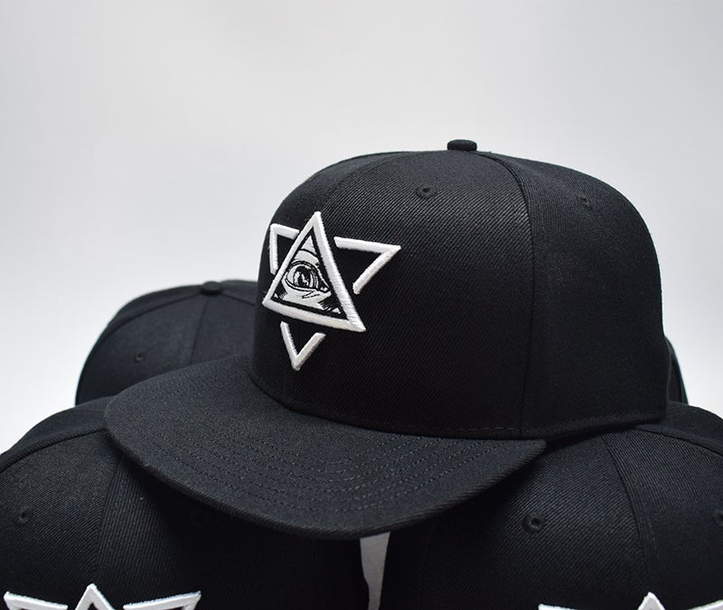 Image of Limited Emboidered Cap Black