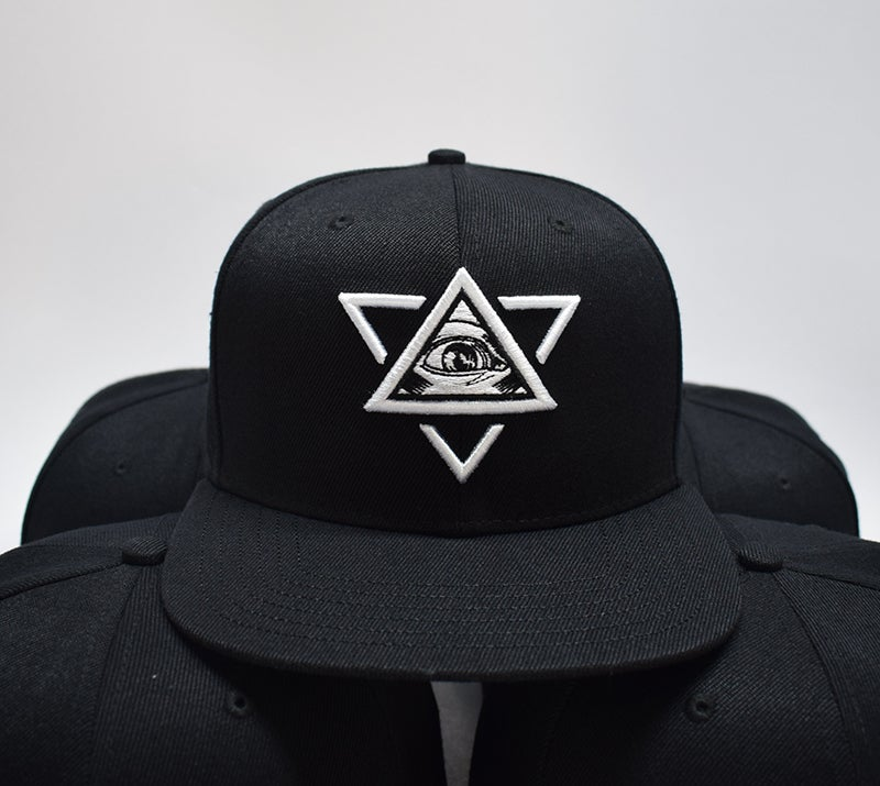 Image of Emboidered Cap Black