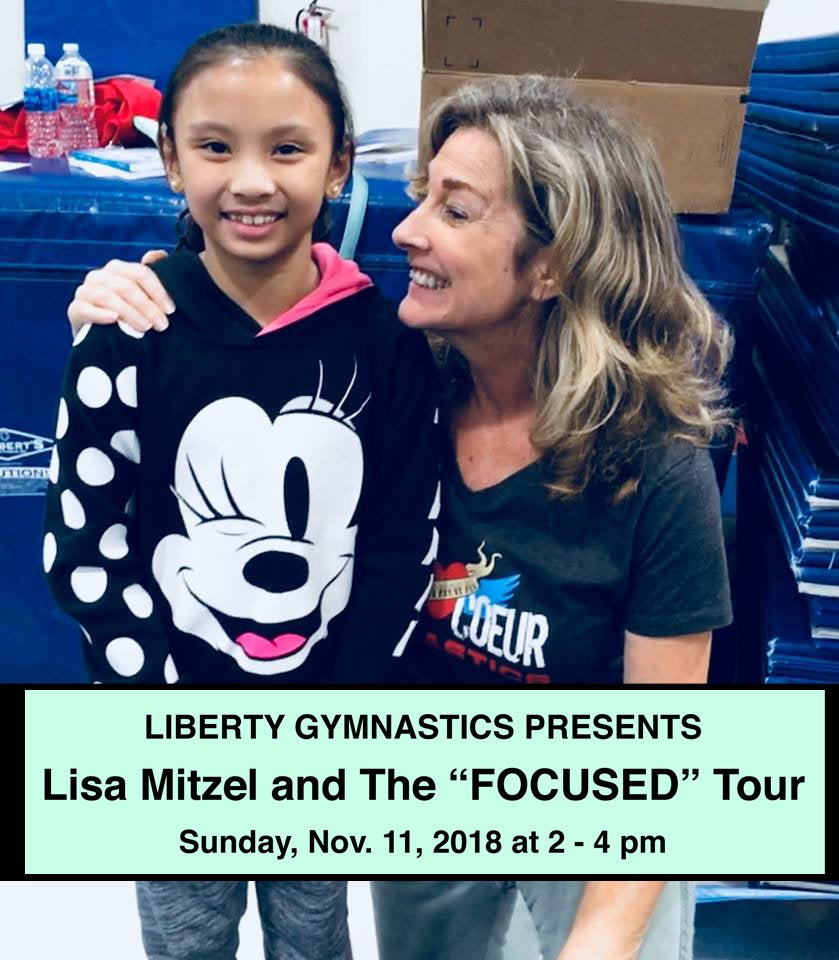 Image of Lisa Mitzel - Focused Tour 2018 @ LIBERTY GYMASTICS TRAINING CENTER