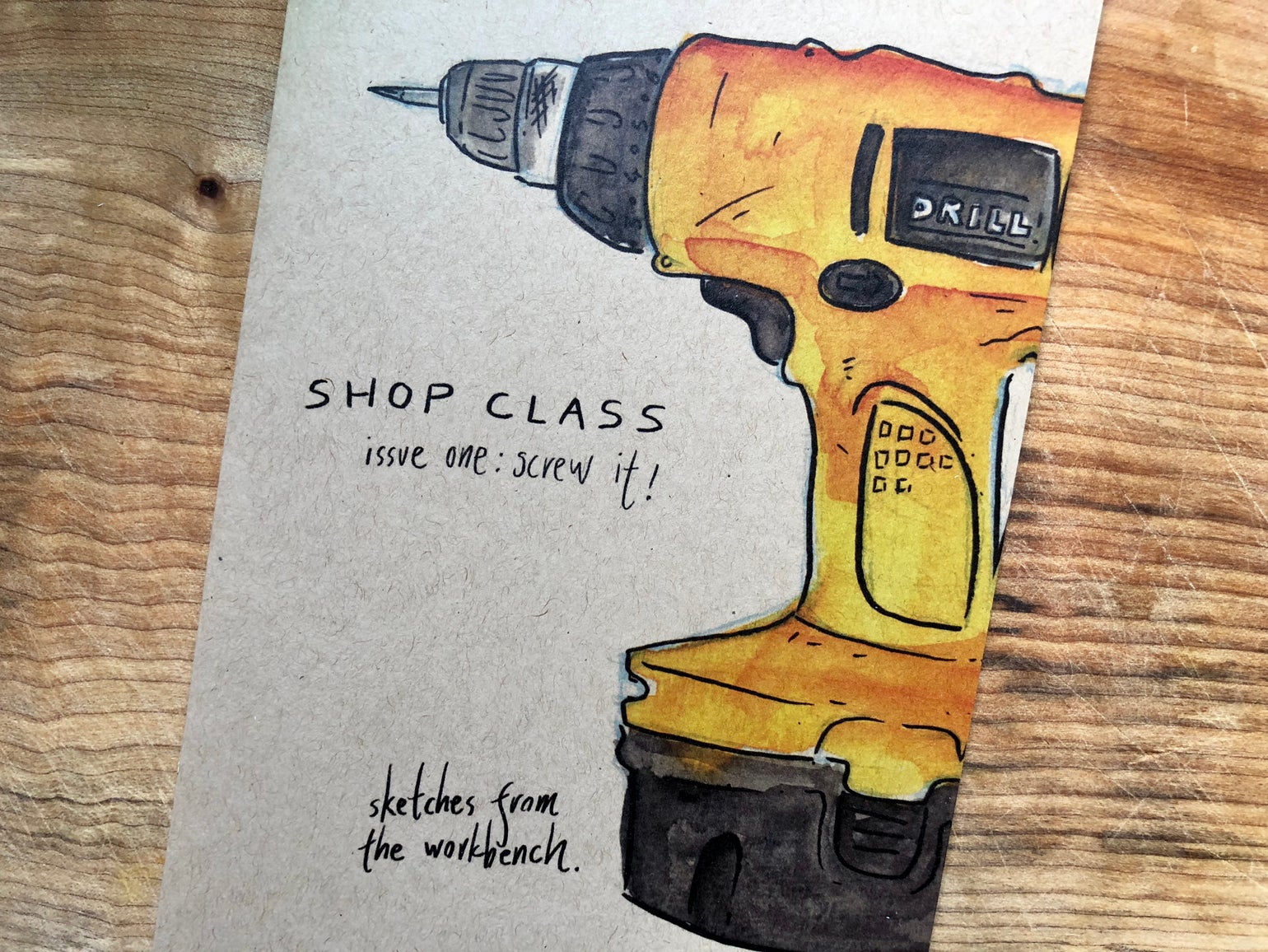 Image of Shop Class - Cordless Drills