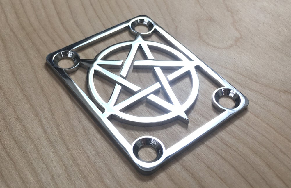 Image of Pentagram - Chrome or Industrial Black