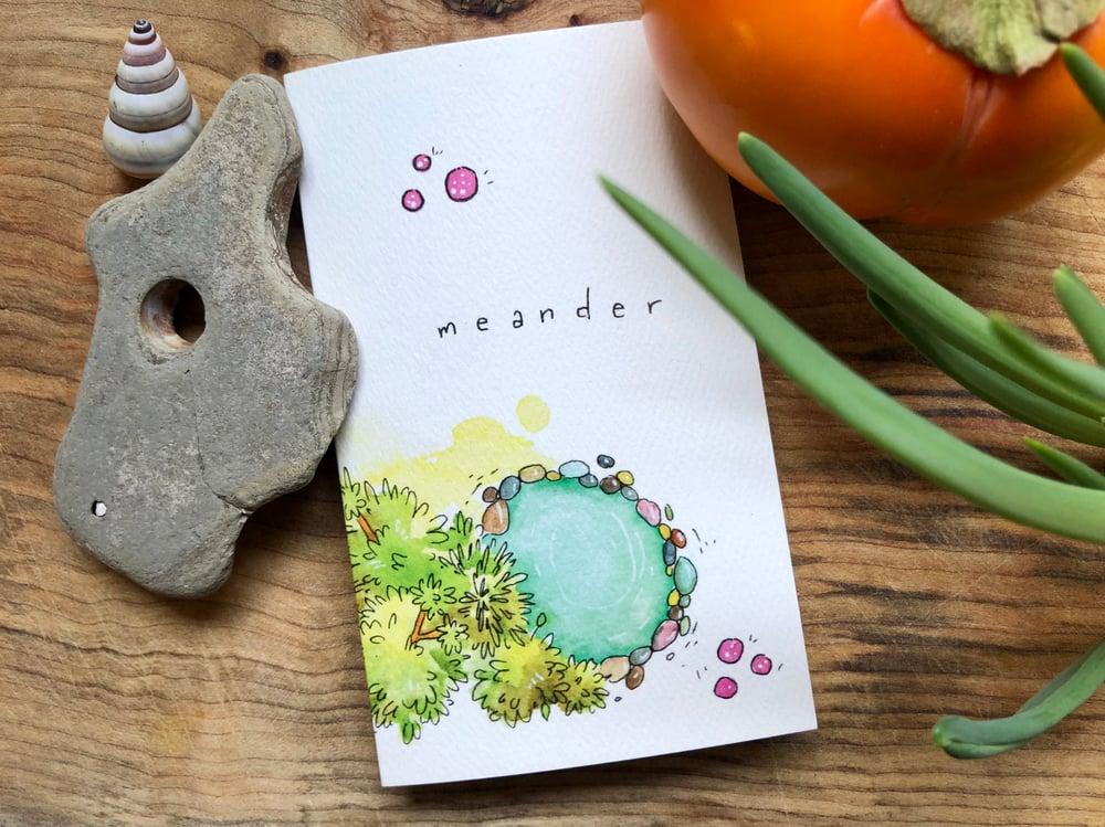 Image of Meander - a zine