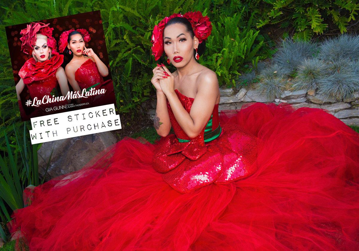 Image of Las China Mas Latina Autographed Image