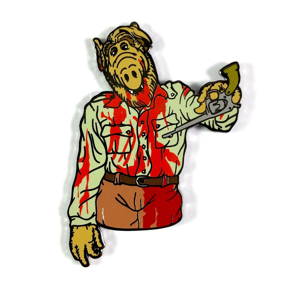Image of Dawn Of The Alf (Enamel Pin)