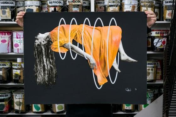 Image of 'Escape' (Orange)