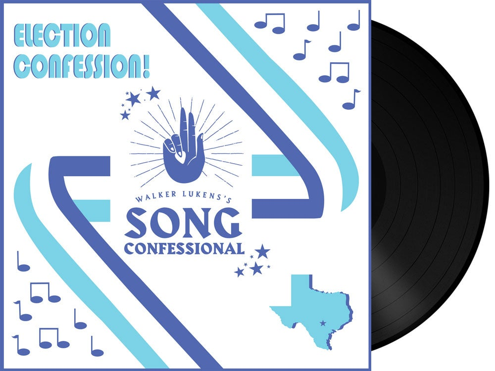Image of Walker Lukens's Song Confessional - Election Confession LP