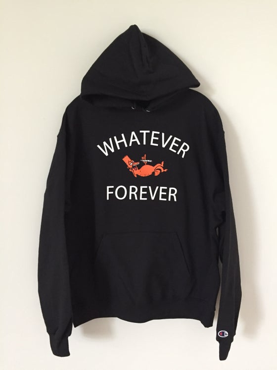 Image of Whatever Forever Laidback Bartfield Black Hoodie
