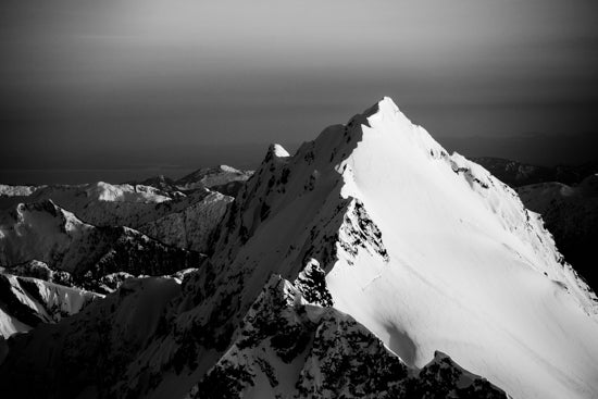 Image of Coast Mountains Print