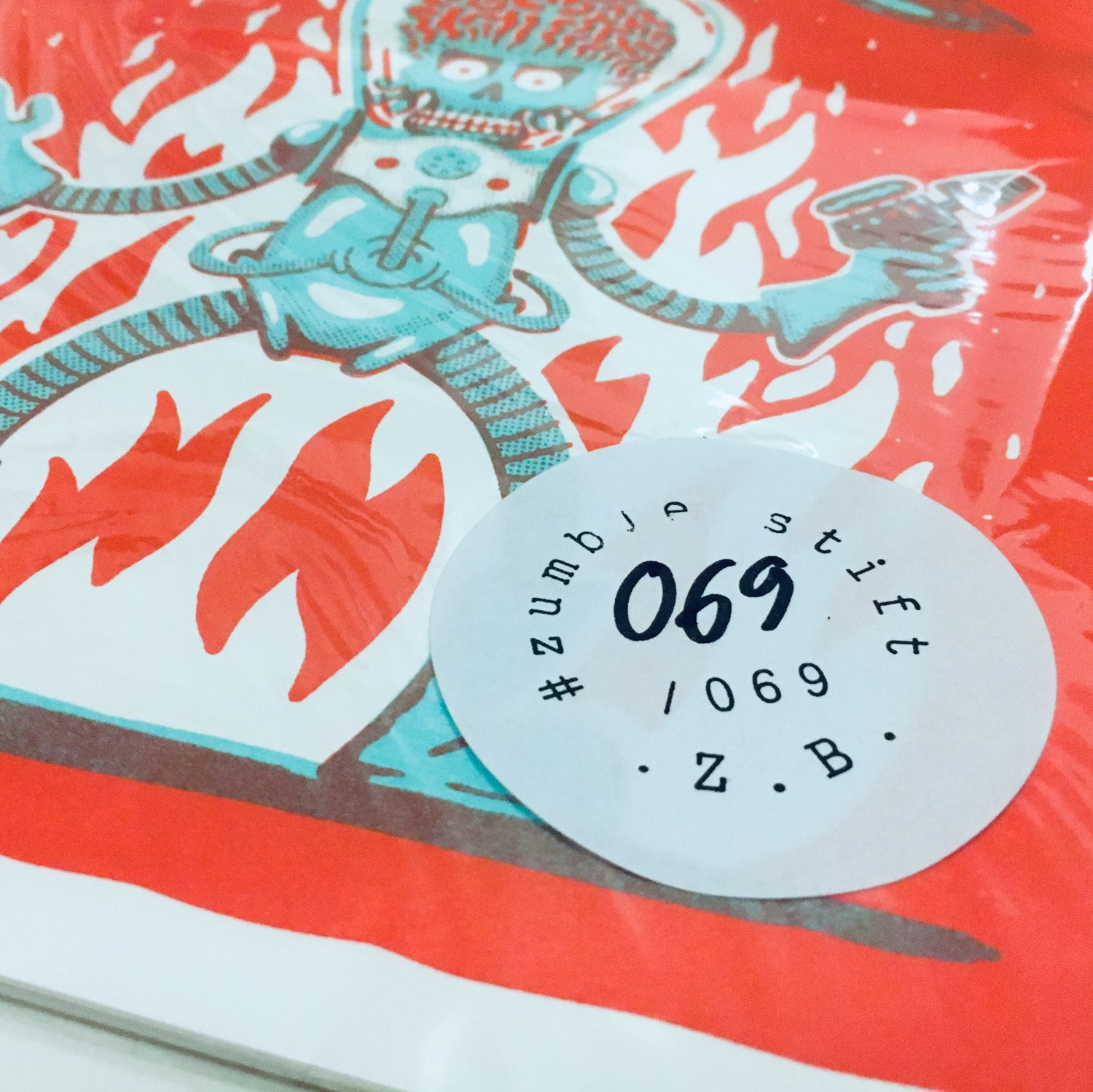 Image of Set of 7 Monster Riso Prints
