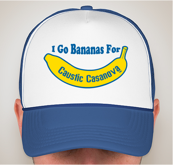 Image of I Go Bananas For Caustic Casanova Trucker Hat