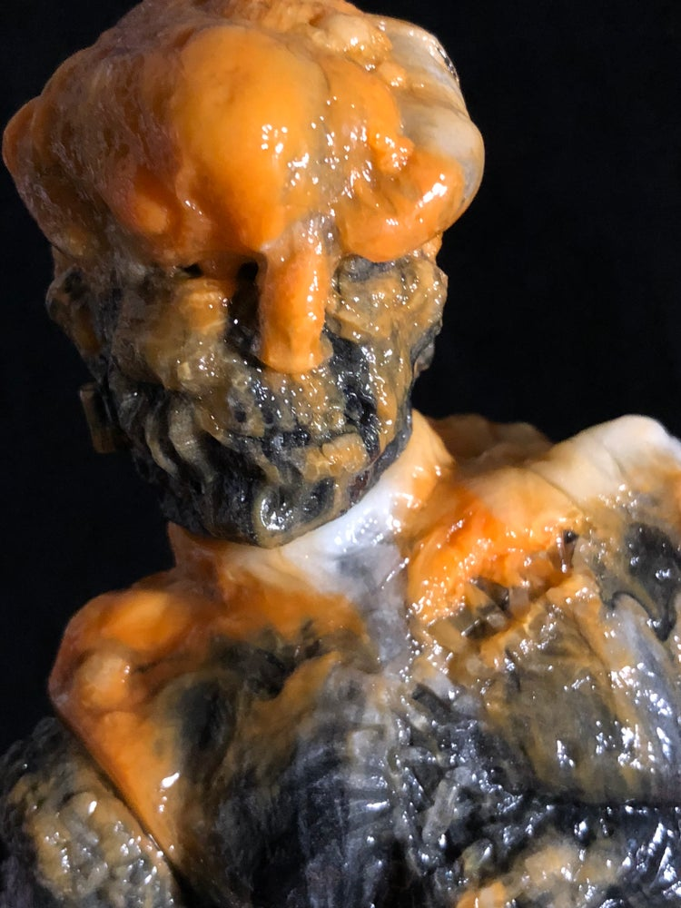 Image of Black/ Orange/ GID/ Clear Marbled FrankenMerrick