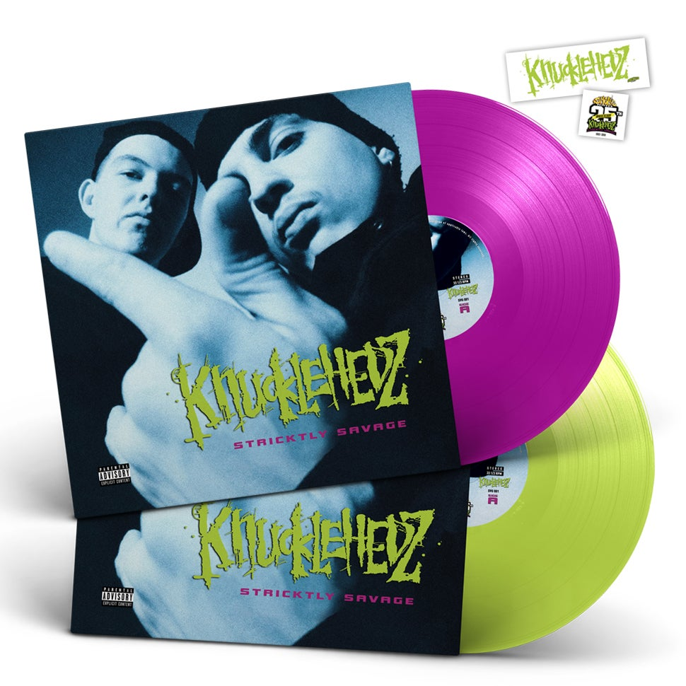 Image of Knucklehedz - Stricktly Savage Vinyl 25th Anniversary Edition