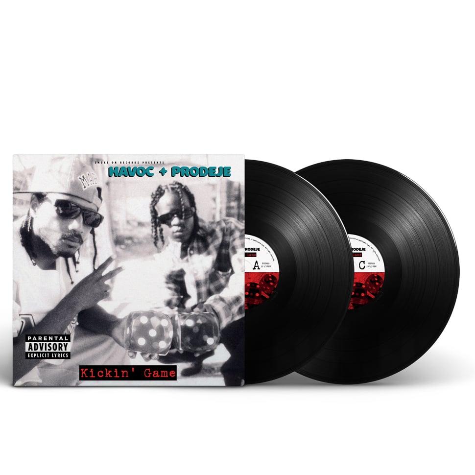 Image of Havoc & Prodeje of South Central Cartel - Kickin' Game Vinyl