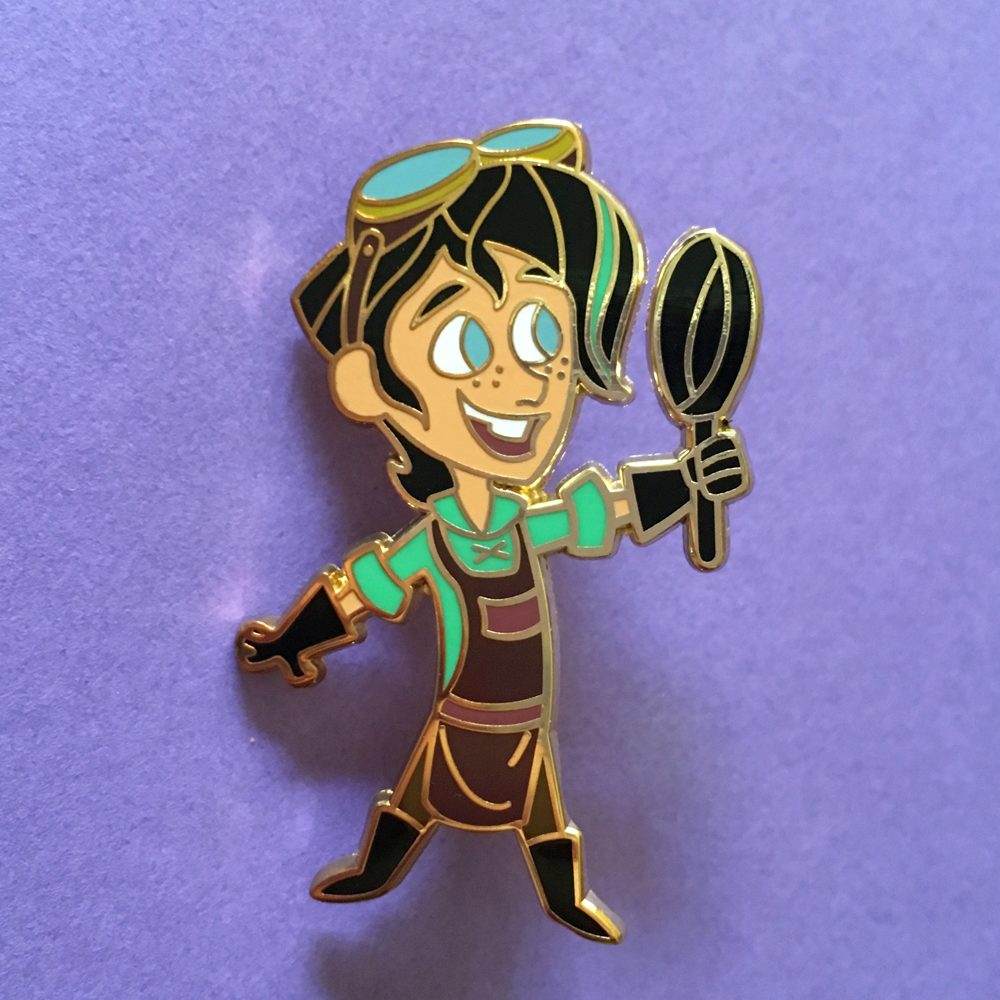 Image of Varian Hard Enamel Pin