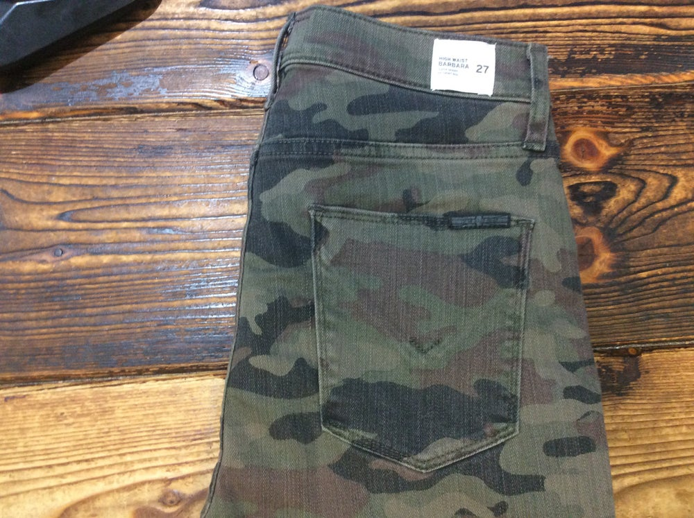 Image of Hudson Camo Jeans