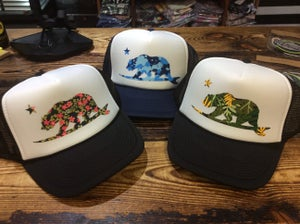 Image of Pacific Coast Patterned Bear Hats
