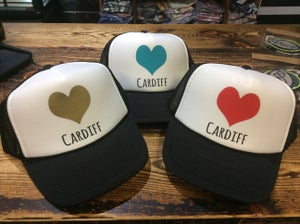 Image of Pacific Coast Cardiff Heart Hat