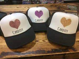 Image of Pacific Coast Sparkly Heart Hat